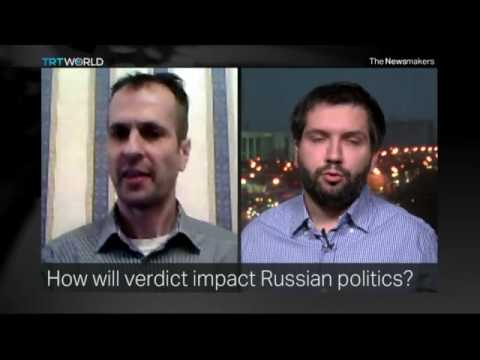 Dr Marcus Papadopoulos debated Alexei Navalny on TRT World