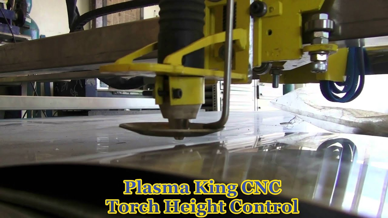 Plasma King Cnc Thc Torch Height Control Demonstration