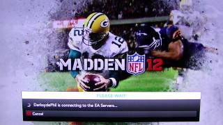 Madden 12 - Superbowl Gameplay pt1