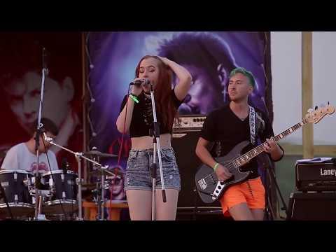 Долбушина и Пугач - Москва Live (Панк-рок тусовка «Колхозный панк»)