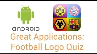 Great Android Apps: Football Logo Quiz