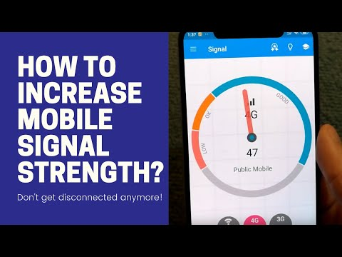 How To Improve Mobile Signal Strength? Increase Wireless Signal Strength At Home! Boost Cell Signal!