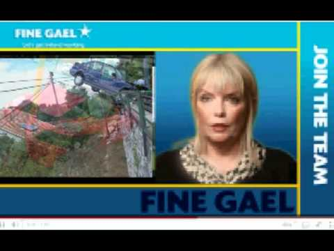 Mary Mitchell O'Connor Fine Gael TD Car Crash Dail - MotorVation