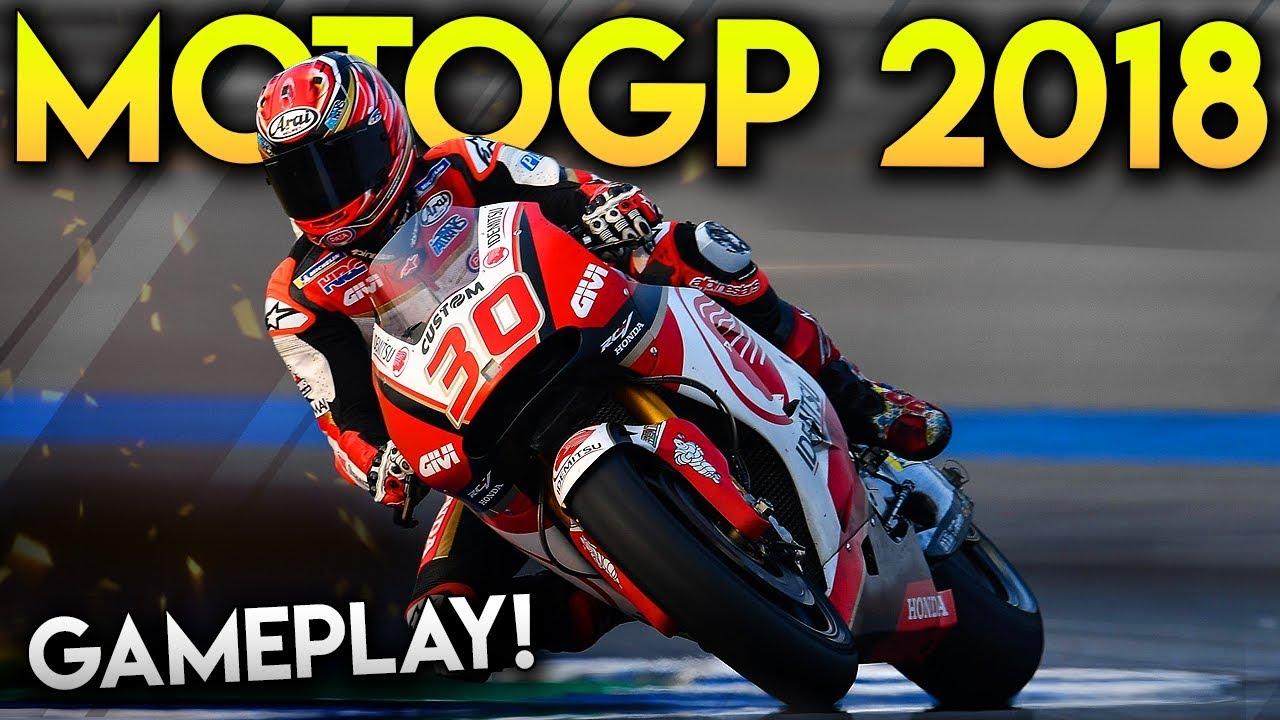 Motogp  Gameplay Racing As Nakagami At Usa Texas Gp Motogp  Game Mod
