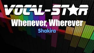 Shakira - Whenever, Wherever (Karaoke Version) with Lyrics HD Vocal-Star Karaoke
