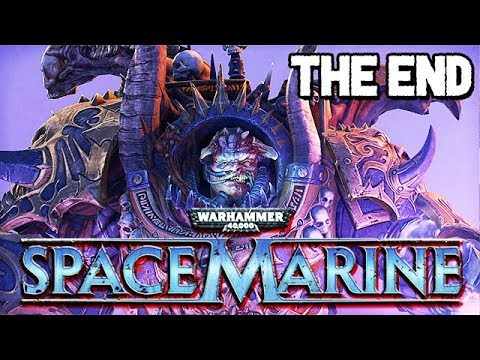 Warhammer 40k Space Marine Gameplay German ENDE - Dämonenprinz