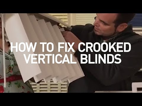how-to-fix-crooked-vertical-blinds-|-blinds-diy