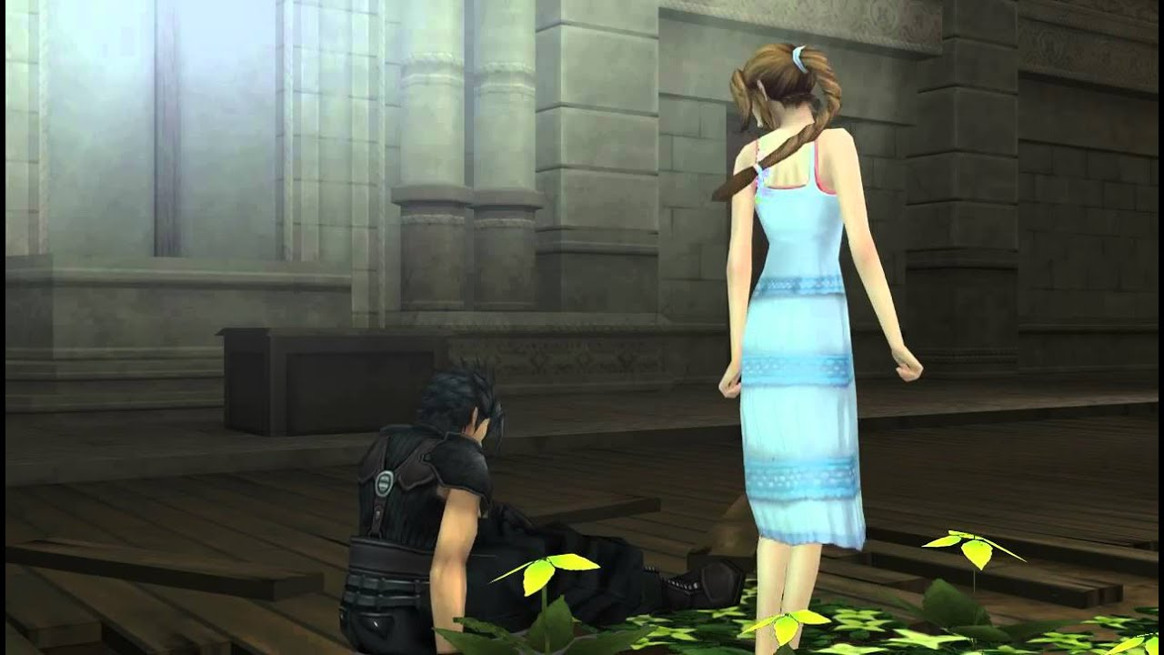 crisis core meet aerith and sephiroth