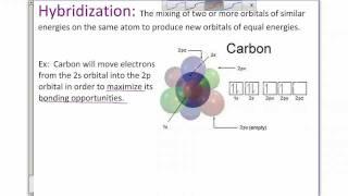 chem ch 6 section 6 6 bond angles and hybridization