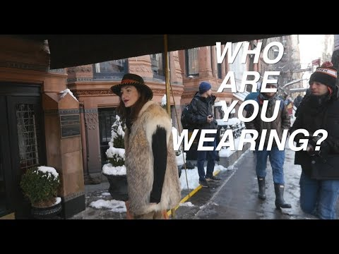 New York Fashion Week (who are you wearing)