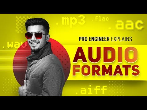 [HINDI] What Is The Best Format To Export Audio Files? |WAV, AIFF, MP3, FLAC, AAC | Mix With Vasudev