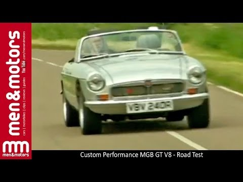 Custom Performance MGB GT V8 - Road Test - YouTube