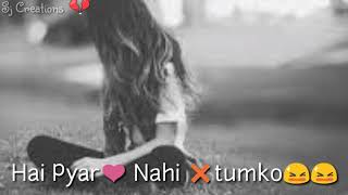 Lo Maan liya Humne female version very sad WhatsApp status- Sj Creations