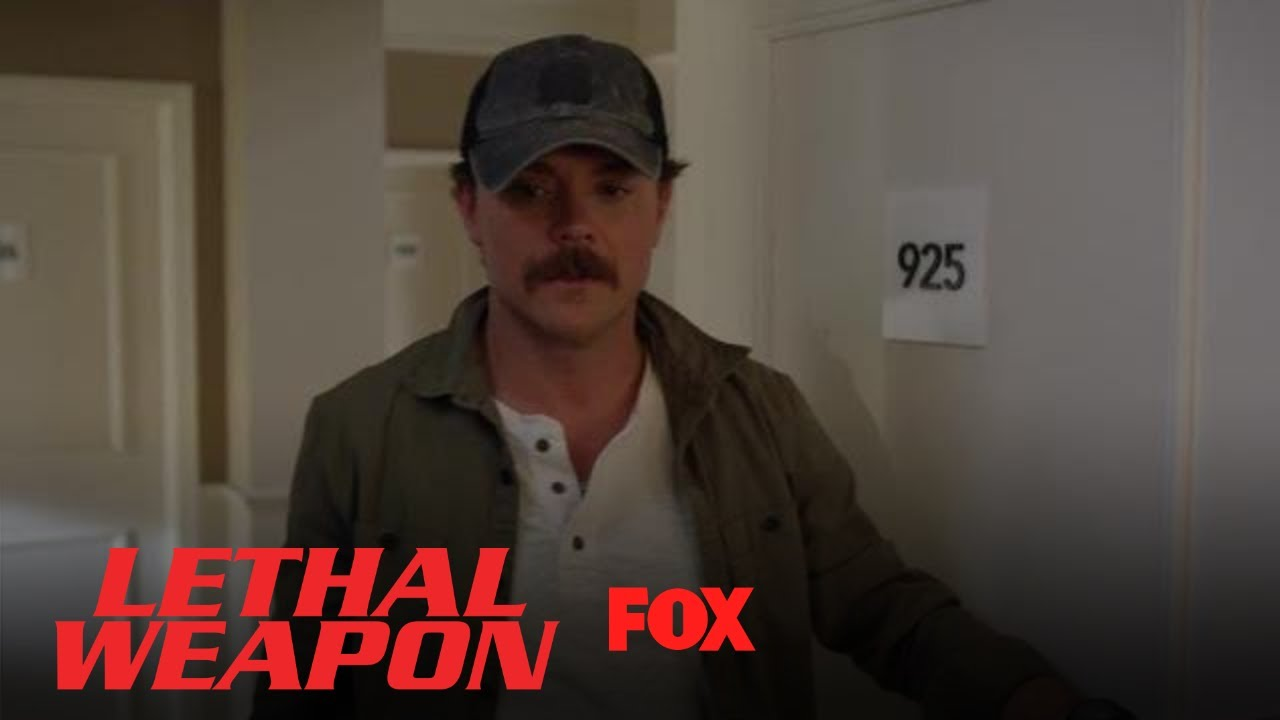 Riggs Can't Keep His Eyes Off The Mini Bar | Season 2 Ep. 15 | LETHAL WEAPON