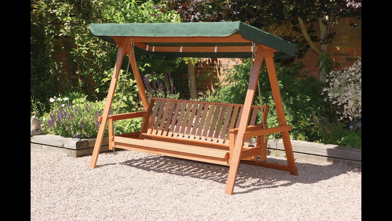 Garden Swing Chair | Garden Swing Chair Accessories - YouTube