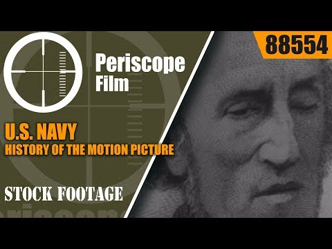 U.S. NAVY HISTORY OF THE MOTION PICTURE  MOVIE   FILM  88554