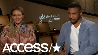 'Younger': Hilary Duff & Charles Michael Davis On Kelsey & Zane's Relationship | Access
