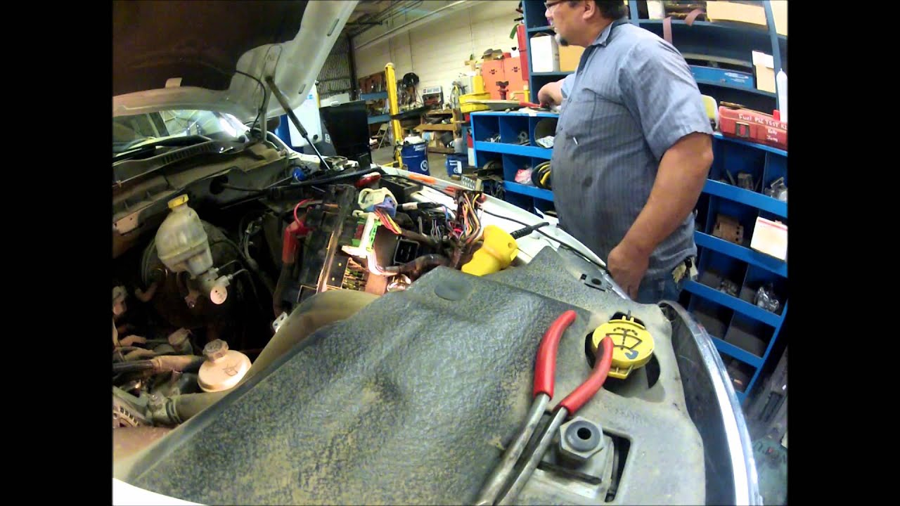 2011 Dodge Ram TIPM External fuel pump relay  YouTube
