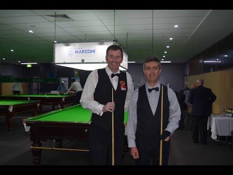 David McMahon Vs Peter Gilchrist 2018 Marconi Sydney Billiards Championship
