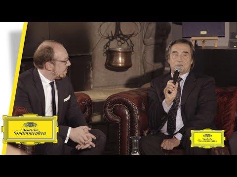 Riccardo Muti - Vienna Philharmonics 175th Anniversary (Interview)