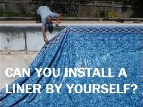 Can you install a pool liner by yourself youtube can you install a pool liner by yourself swimming pool steve solutioingenieria Image collections