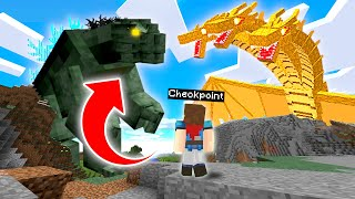 We Found GODZILLA And A GIANT KAIJU ARMY ... And They DESTROYED The WORLD - Minecraft Mods Gameplay