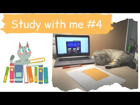 Study with me #4 - учись со мной, испанский язык, мотивация на учебу