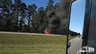 Ciekawostki 431. Pożar Trucka Na Autostradzie