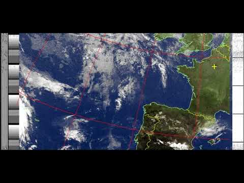 NOAA weather satellites images