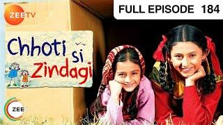 Chhoti Si Zindagi - Episode 184 - 12-12-2011