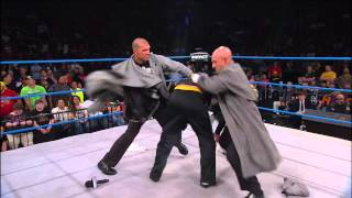 Bad Influence Christopher Daniels and Kazarian Find Abyss - Oct. 31, 2013