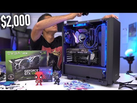 $2000 Gaming PC Build - i7 8700K GTX 1080 Ti (w/ Benchmarks) Coffee Lake