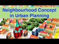Neighbourhood Concept in Urban Planning