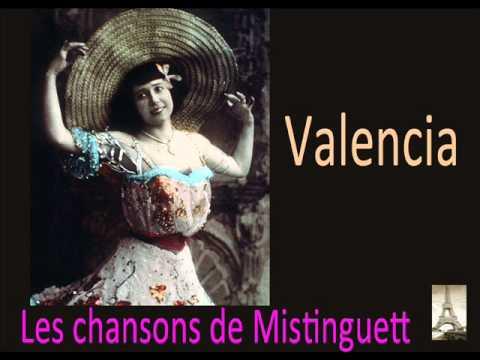 Mistinguett - Valencia (La chanson française)