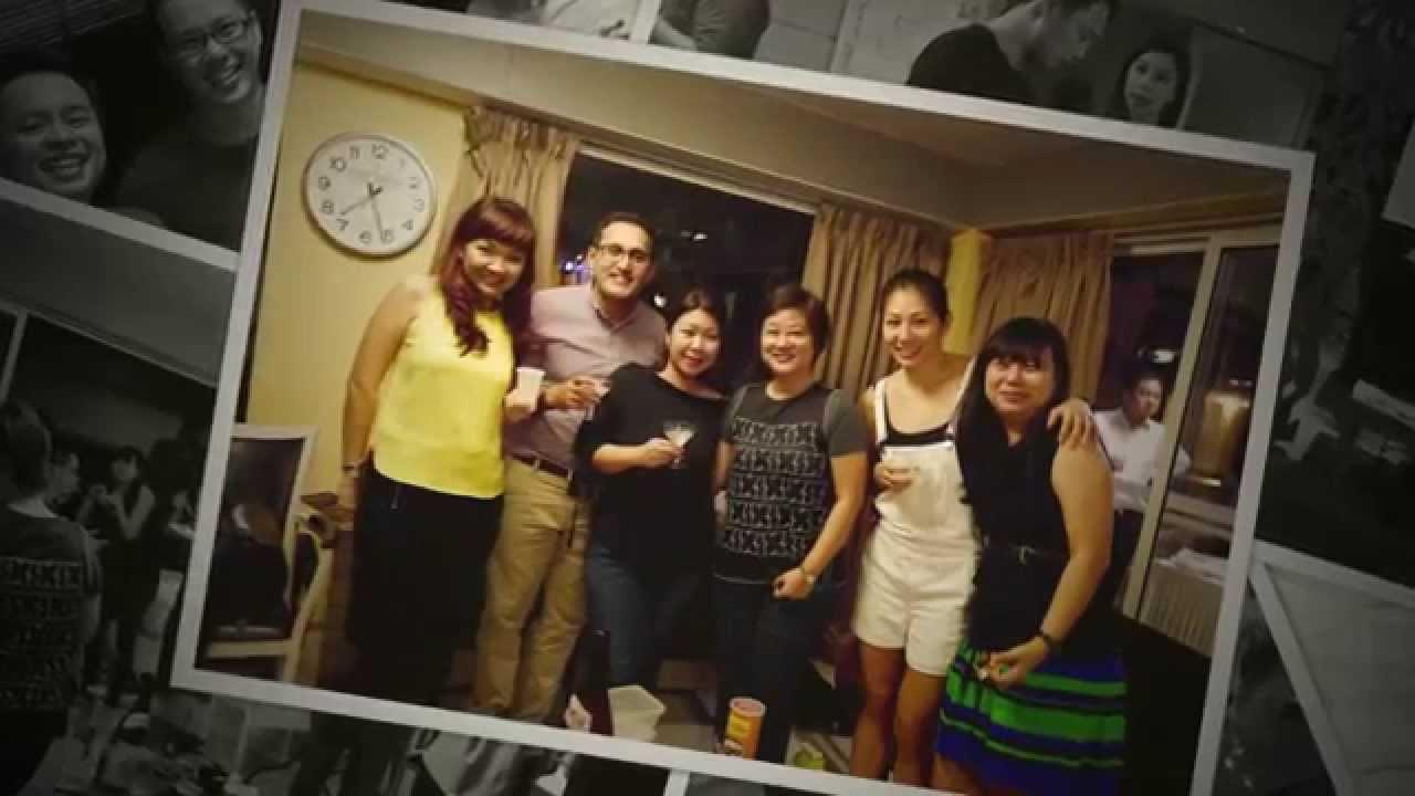 Singapore Sales Team Dinner at NSRCC Bungalow