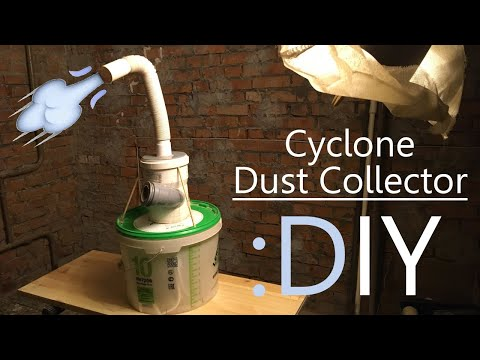 I Made Cyclone Dust Collector (DIY)