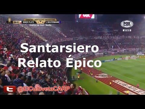(Santarsiero-Epico) River Plate 8 vs J. Wilstermann 0 - 4tos - Libertadores 2017 I ElCultivetaCARP