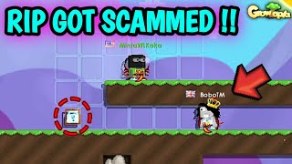 TROLL SCAMMER DROP 15 BGL ?! (GOT SCAMMED ?) !! GROWTOPIA