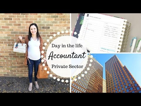 Day in the Life of an Accountant | Private Sector |