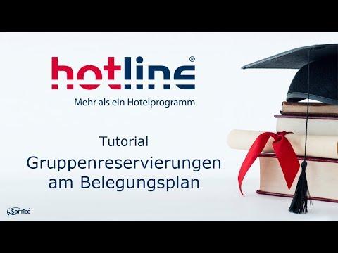 Tutorial: Gruppenreservierungen am Belegungsplan | hotline Hotelsoftware thumbnail