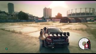 DiRT 3 / GAMEPLAY / FREERIDE / HIGH 1366x768 HIGH RESULUTION|