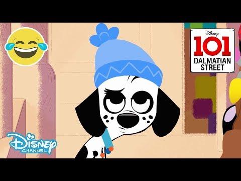 101 Dalmatian Street | SNEAK PEEK: Snow Day ❄️ | Disney Channel UK