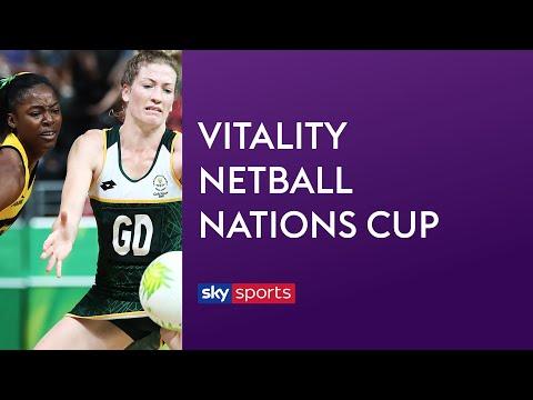 LIVE NETBALL! Jamaica Vs South Africa