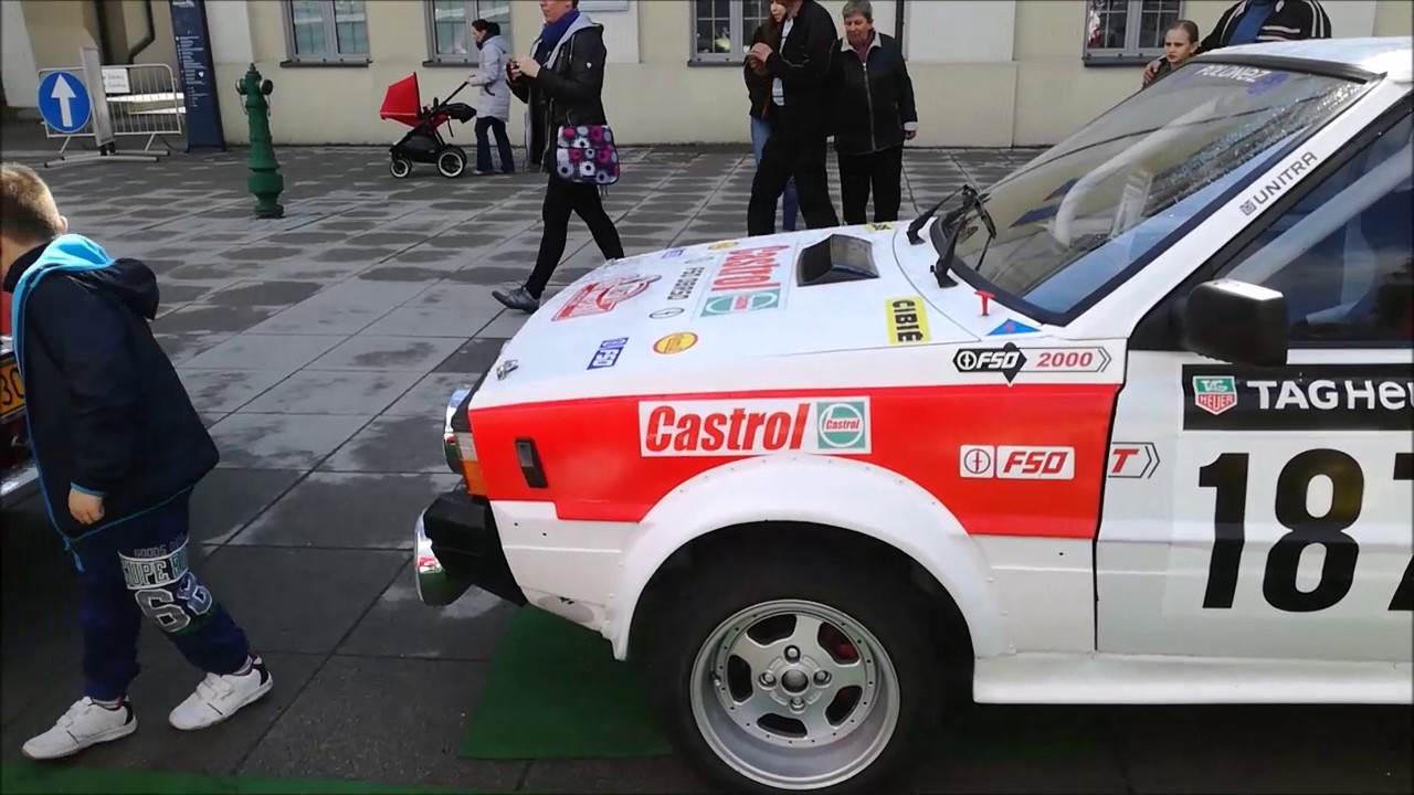 Samochody rajdowe w Starej Kopalni w Wałbrzychu