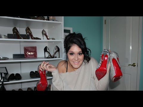 TRY ON - WHICH CHRISTIAN LOUBOUTINS SHOULD I WEAR 4 THE HOLIDAYS
