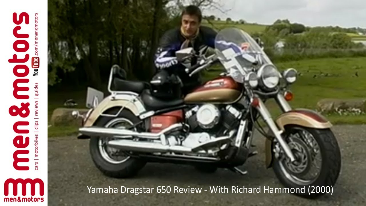 yamaha dragstar 650 review with richard hammond 2000. Black Bedroom Furniture Sets. Home Design Ideas