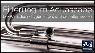 FILTER & FILTERMEDIEN | Die richtige Filterung für dein Pflanzenbecken | AquaOwner