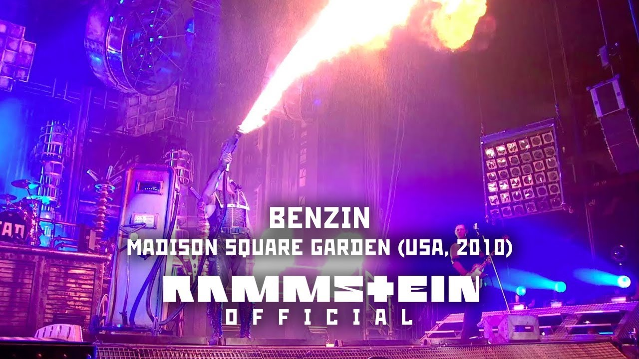 Rammstein - Benzin (Live from Madison Square Garden) - YouTube