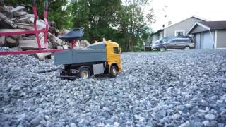 Scania 4x4 dump box v2 test