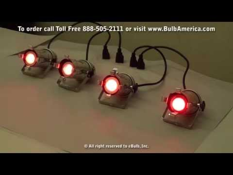 RGB LED Sound Sensitive Music Activated Color Changer Lamp